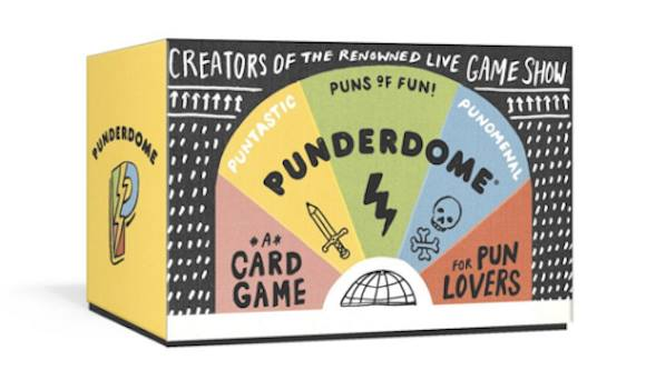 We're having a Punderdome card game preview party!