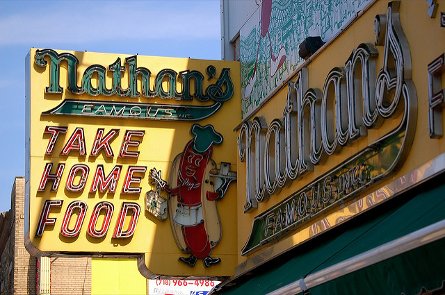 The hot dog wars return! Nathan's and Feltman's renew rivalry with super cheap showdown May 28