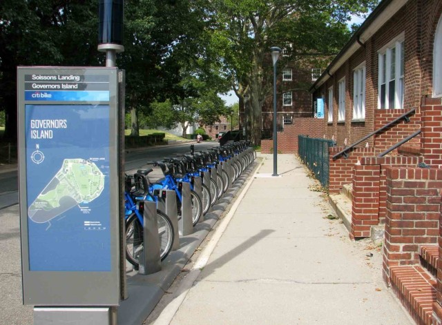 Bring a bike, rent one or hop on a Citibike at Governors Island this year.