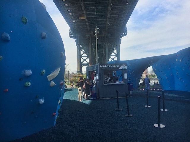Review: Is DUMBO's new outdoor climbing park any good?