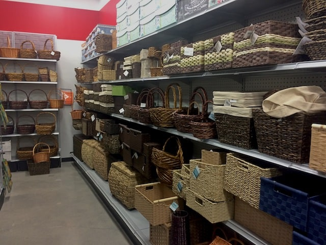 Michaels, aka basket Valhalla