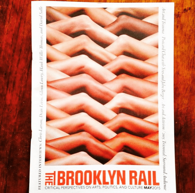 via Brooklyn Rail on Instagram