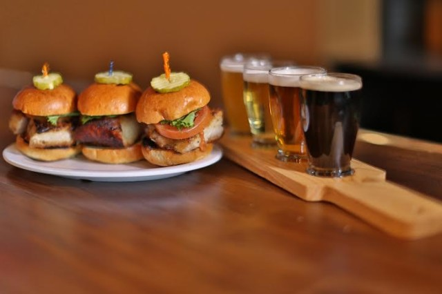 Burgers and beers pair well at any size at Beer Belly's.