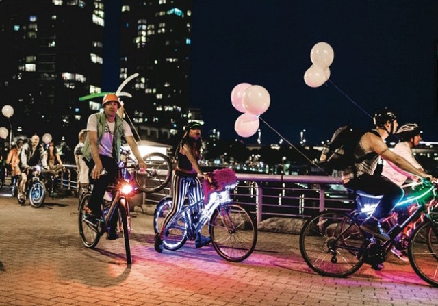 A Bike Rave will come to Brooklyn for the first time this year. Via Eventbrite.