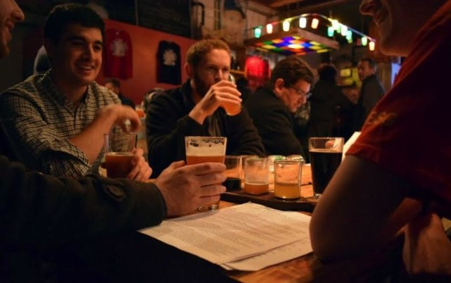 End your commute at Bridge and Tunnel Brewery.