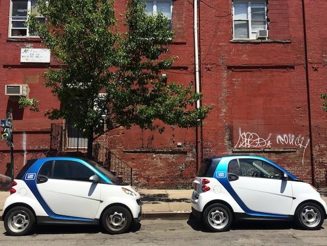 Car2go cars go together