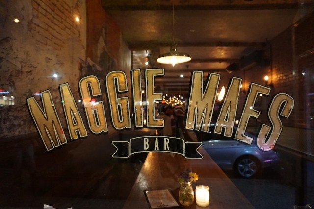 See what's behind the window at Maggie Mae's in Sunnyside.