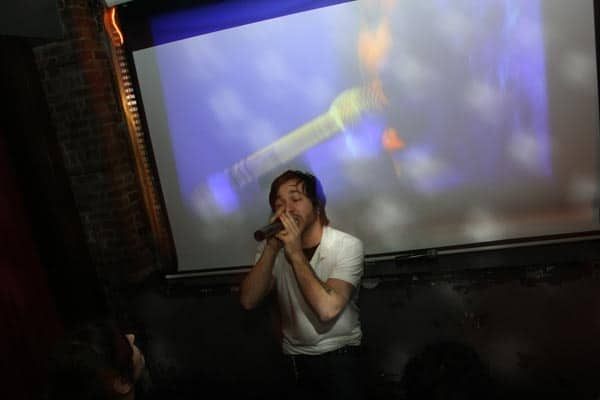 Singing a metal song means a free shot at Matchless. Via Kings of Karaoke website.
