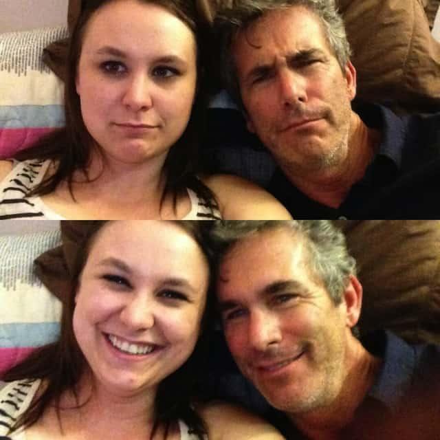 Me and my dad. Paige Goodloe / Brokelyn