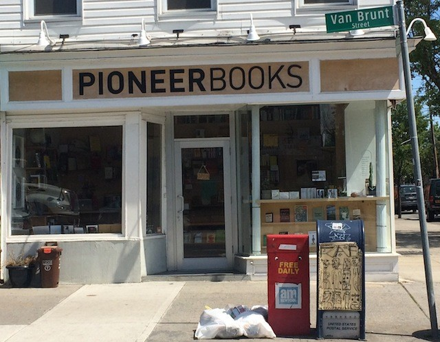 Peruse small presses and zines at Pioneer Works' bookstore