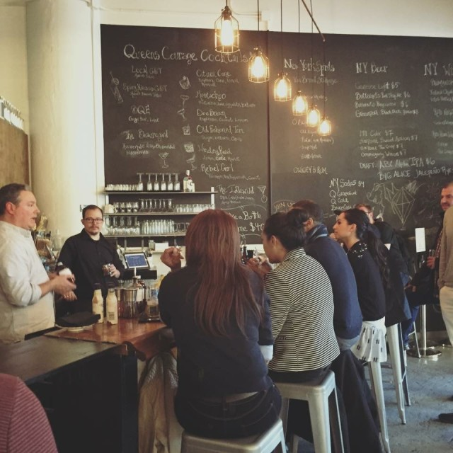 Measure your admiration for locally distilled booze at The Astoria Distilling Co. tasting room and bar, Proof  and Gauge.