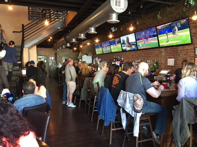 Get rowdy at Ridgewood Ale House.