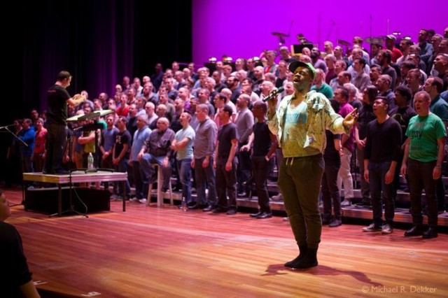 Belt out your pride with the New York City Gay Men's Chorus (#) (pic by Michael Dekker)