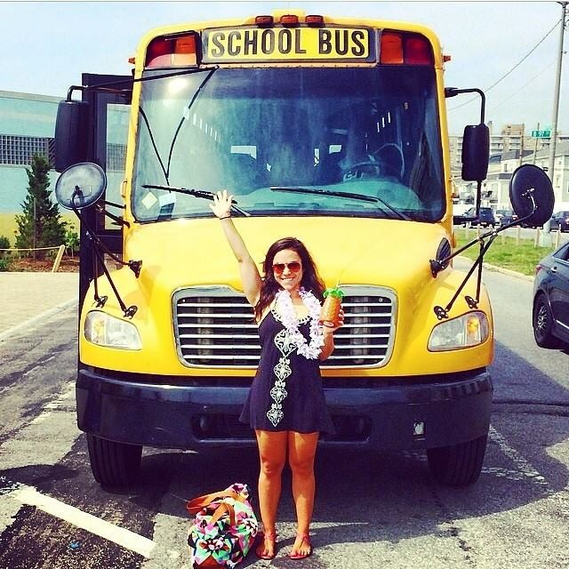 Win free rides to the beach all summer from Brokelyn and the NYC Beach Bus!