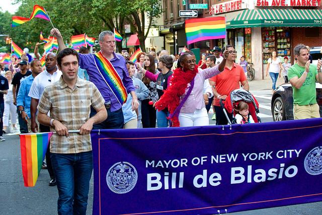 Boy, do we love that sash on Mayor Tall. Todd Crusham / Flickr