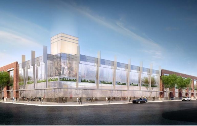 The original rendering of the Williamsburg Whole Foods.