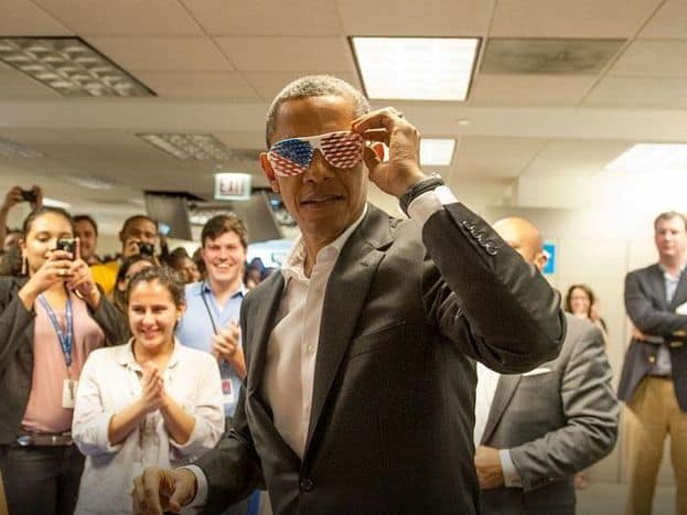 Holy crap we're interviewing President Obama on Facebook Live tomorrow