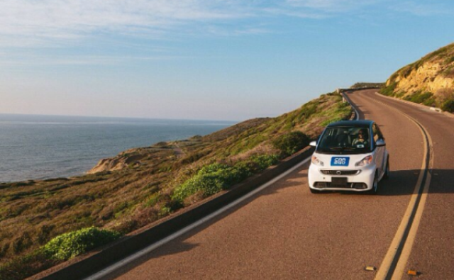 Get a car2go and get on your way going.