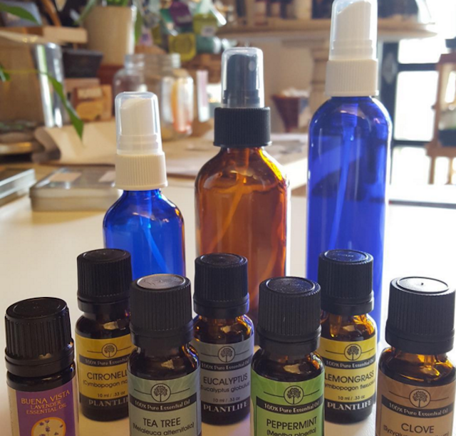 It's essential to learn your essential oils. Photo via @theherbshoppemississippidx on Instagram.