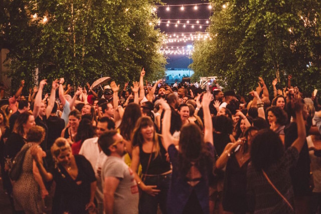 Outdoor Dance Party This Summer