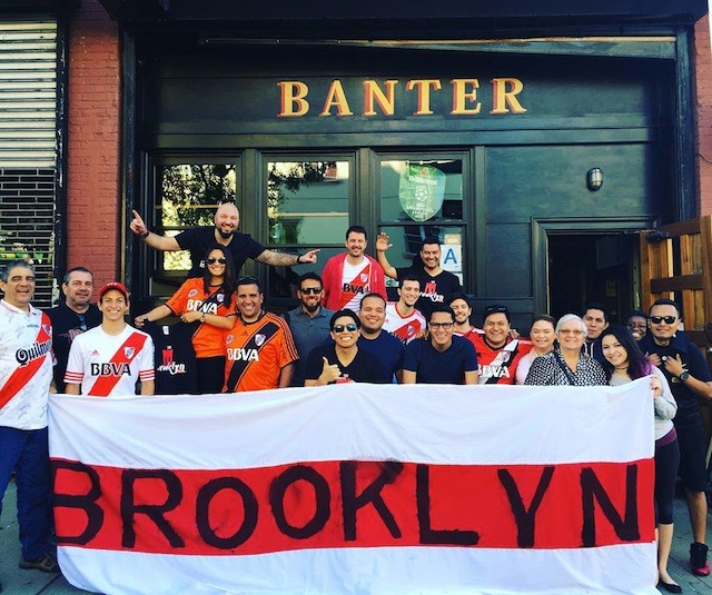 You'll find plenty of soccer fans to banter with on Sunday. Photo via Facebook