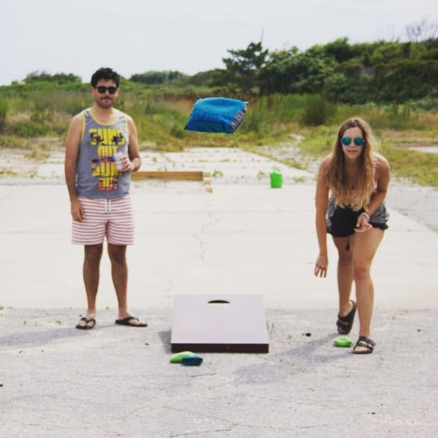 SUNDAY! Games, prizes and a big beach party with Brokelyn and The Push at Riis Beach