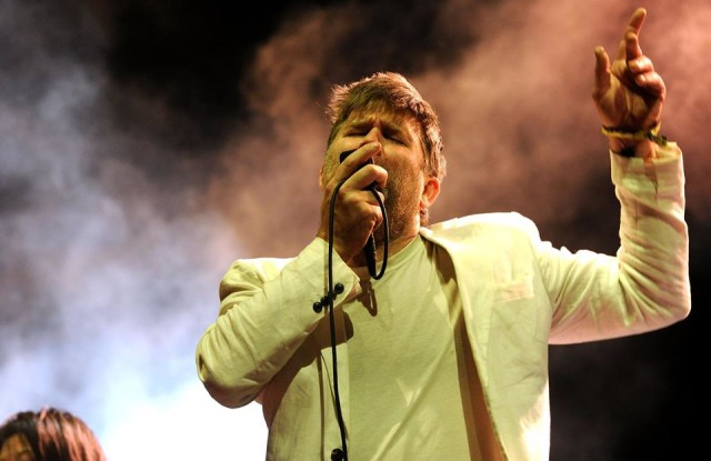 James Murphy and LCD Soundsystem will headline Sunday's festival. Via Facebook.