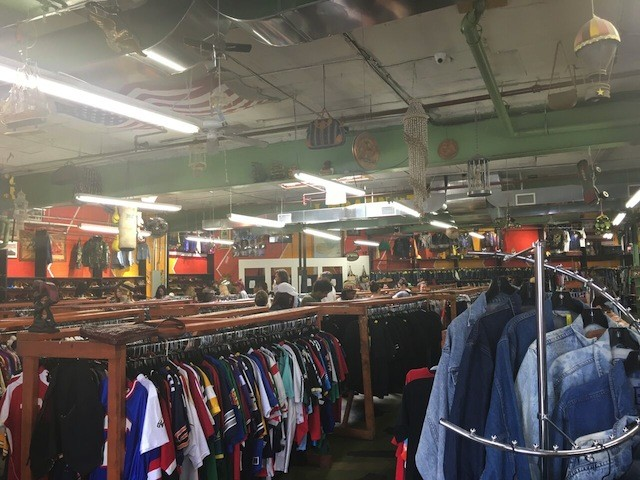 Behold, the thrift store mecca that is Urban Jungle.
