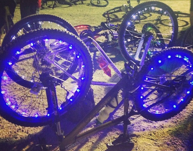 Summer goal: pimp your ride. But maybe first start with a pair of sturdy, quality bike lights. Photo via Instagram
