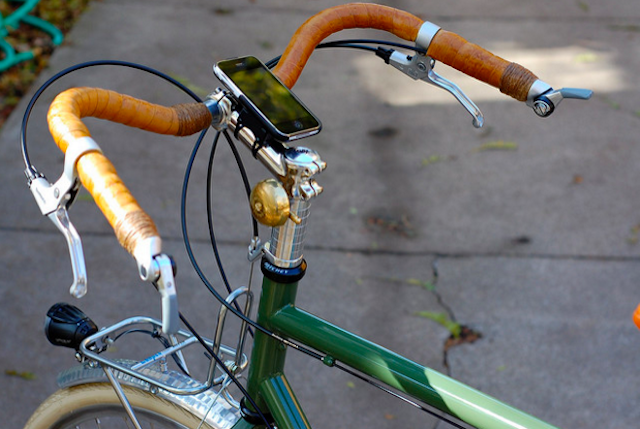 So you can listen to your tunes while you ride. Photo via Flickr.