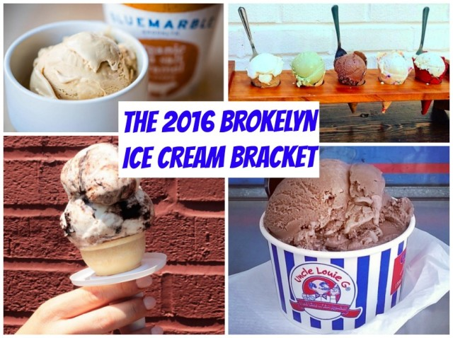 It's the finals of the Brokelyn ice cream bracket! Uncle Louie G's vs. Blue Marble