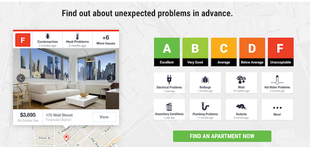 Rentlogic wants to show you what's really going on with your apartment. via Rentlogic.
