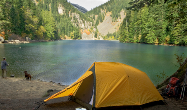 With affordable camping rentals, you could make this your life, at least on the weekends. Photo via Rent Ride Return