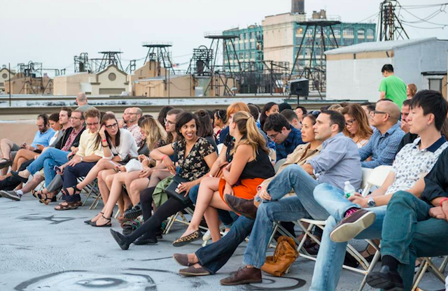Sweet gig alert: See movies for free all summer as a Rooftop Films volunteer