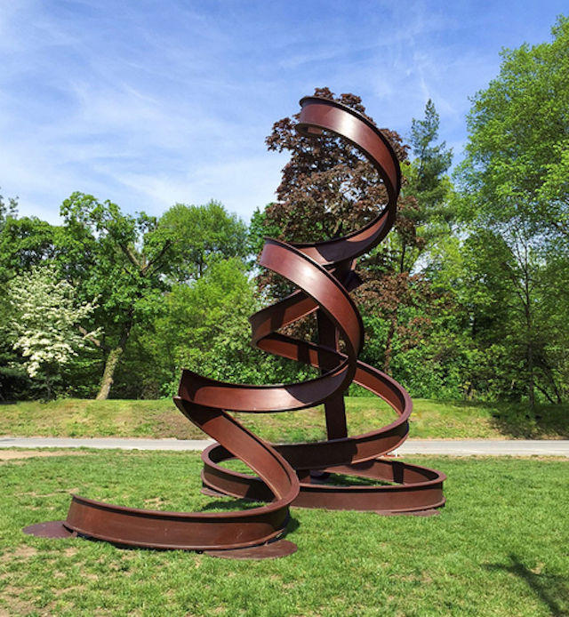 Why go to Storm King when you can see sculptures like this right in Prospect Park? Photo via NYC Parks Dept.