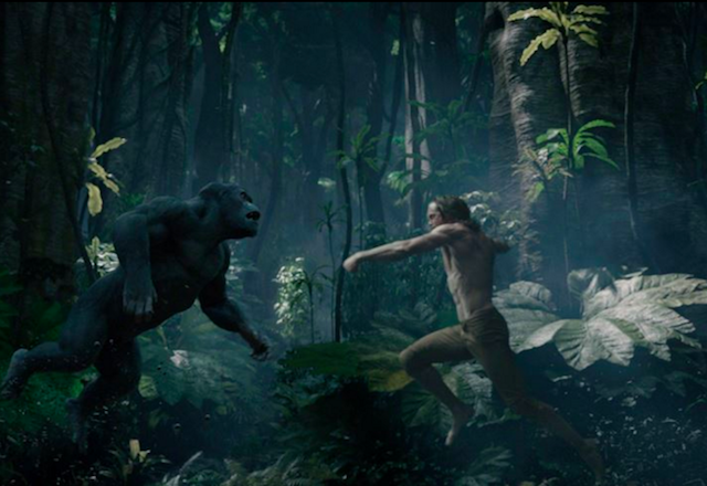 Eh, skip it. Photo via Legend of Tarzan on Facebook.
