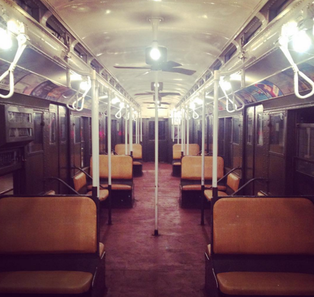 Seek out a cell-free headspace. Photo via @nytransitmuseum on Instagram