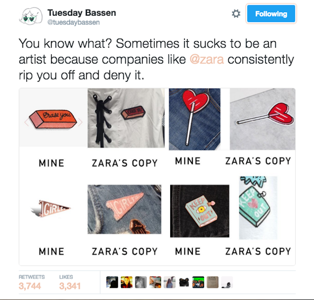 How do you make sure you aren't buying from companies that have stolen artists' work?