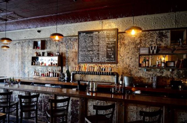 Not a bad spot to spend some time and make some cash: The Wilky Bar in Bed-Stuy