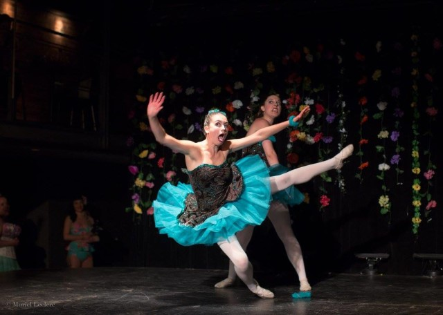 Clown around with Les Bunheads (#3) (pic by Muriel Leclerc)