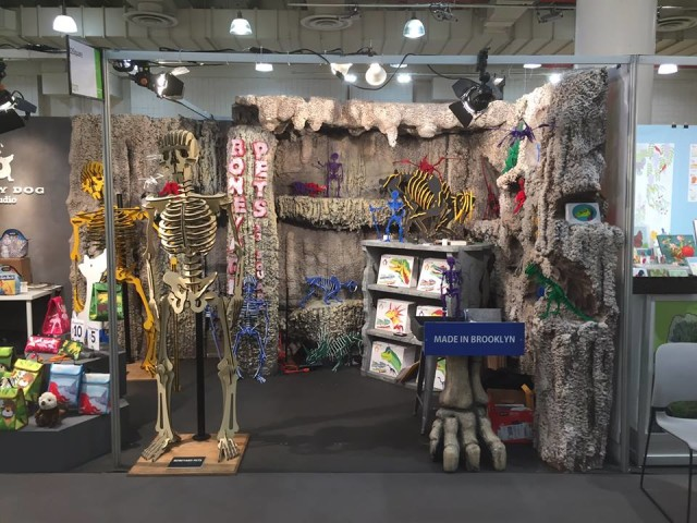 Boneyard Pets at a Javits Center convention earlier this month. Via Facebook.