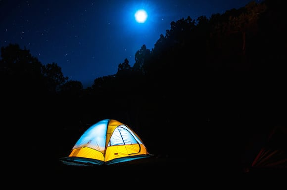 Enter the Prospect Park camping lottery to spend a final summer night under the stars