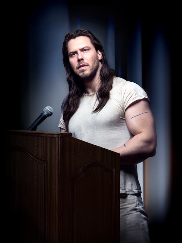 Andrew WK, motivational speaker.