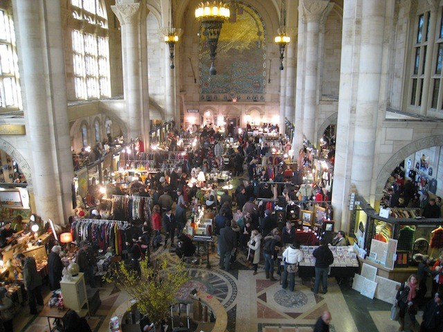 The Brooklyn Flea's winter market is going back to that cool bank building in Fort Greene