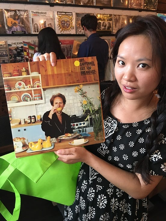 Jessica Numsuwankijkul was mostly interested in this Art Garfunkel record because of the bizarre album artwork.
