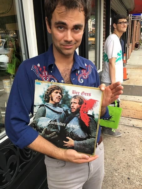 Guitarist Ricci Swift of Heliotropes found this Bee Gees record. It's called Cucumber Castle. I'm very glad it exists.