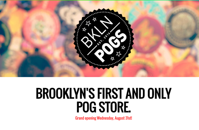 90s nostalgia reaches logical conclusion with (almost certainly fake) Brooklyn Pog store