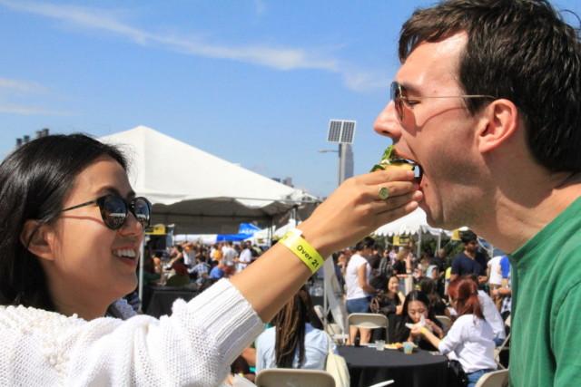 Get stuffed at Taste WG for a good cause. Photo by Farrah Chamseddine;