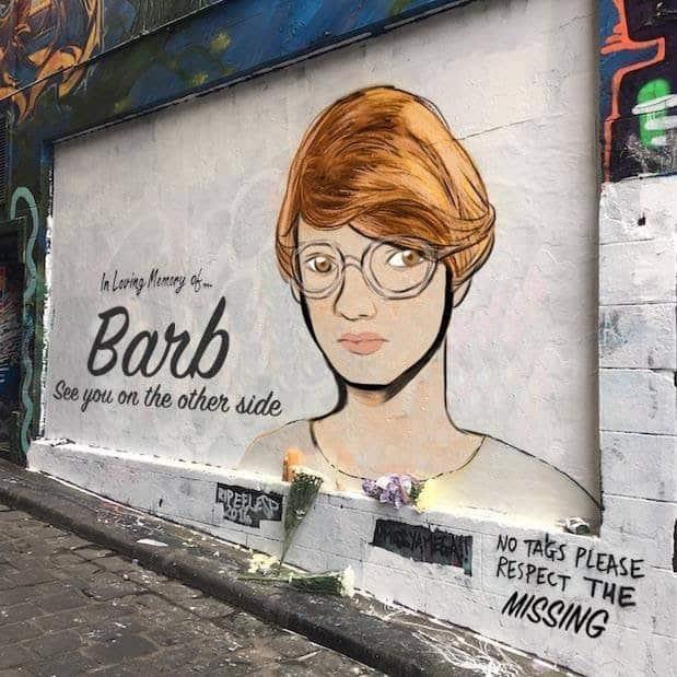 Barb never stood a chance. Via.