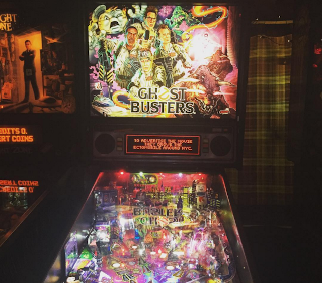 Which pinball machine you gonna play? Ghostbusters at ! Photo by Hope Morawa